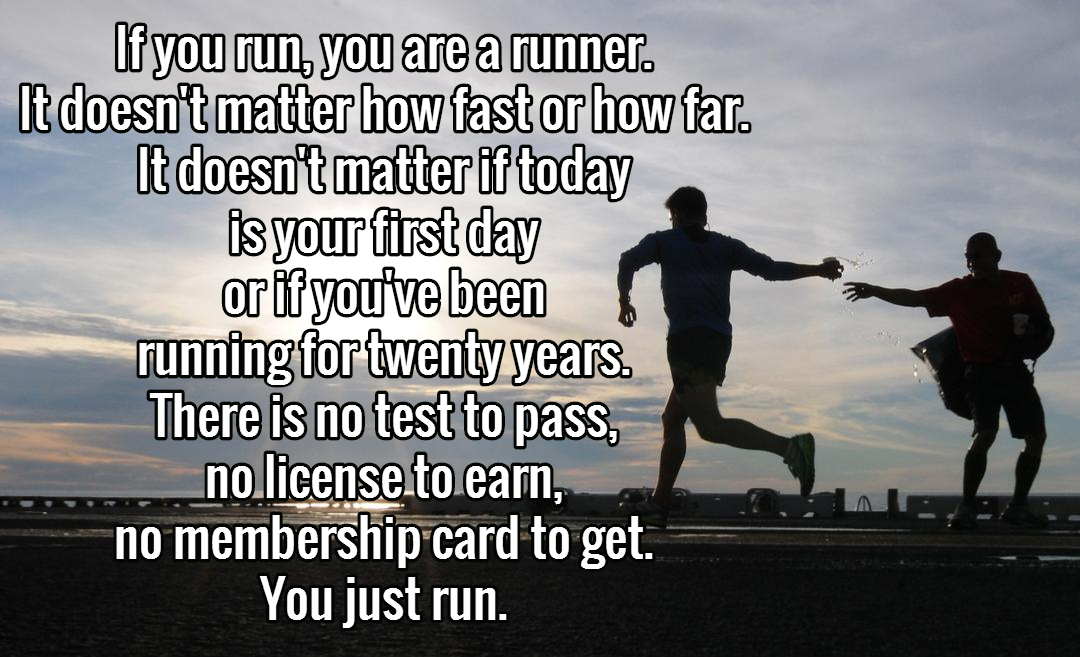 On becoming a runner