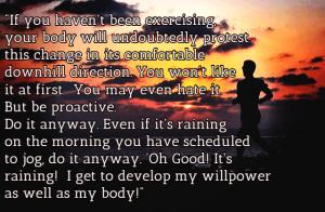 Be Proactive - Run