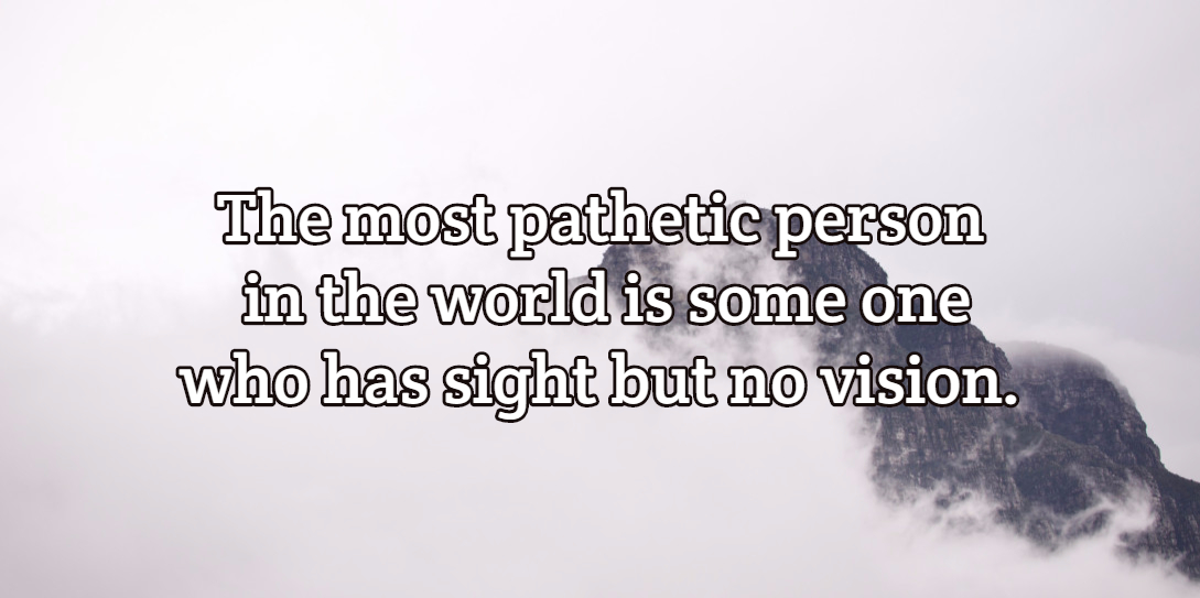 Which is more valuable, Vision or Purpose?
